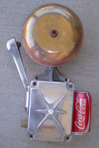 Aluminum And Brass Lifeboat Alarm Bell