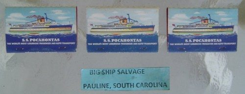 Vintage Matchbooks - Lot Of 3 Ship Related
