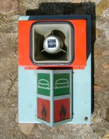 Salvaged Lifeboat Fire Alarm Box