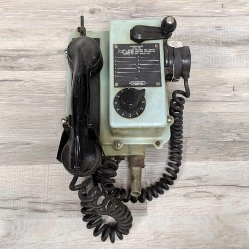 Vintage Bulk Carrier Wall Phone