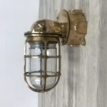 P1-44 Oceanic Cast Brass Wall Sconce
