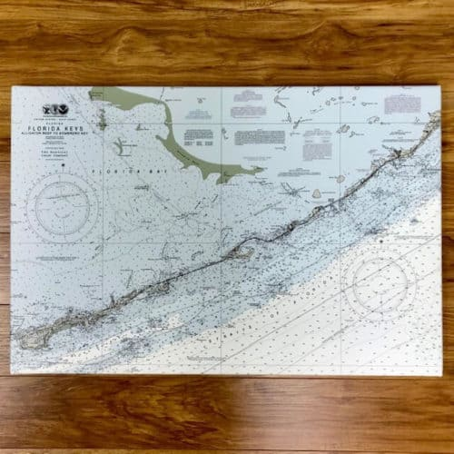 Florida Keys: Alligator Reef to Sombrero Key Nautical Chart