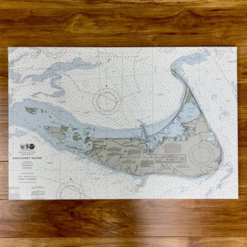 Nantucket Island Nautical chart