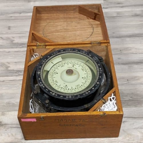 In Box Authentic Salvaged Japanese Magnetic Compass