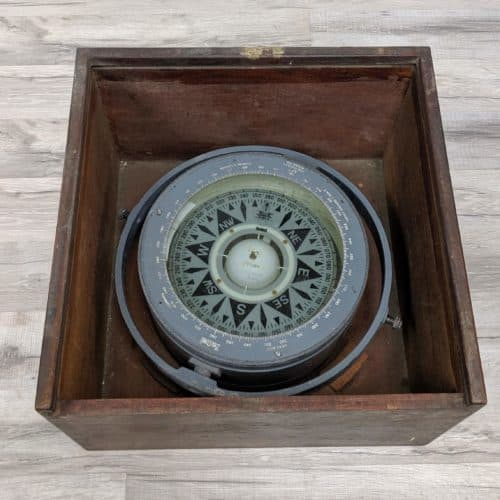 Authentic Salvaged Deadbeat Compass