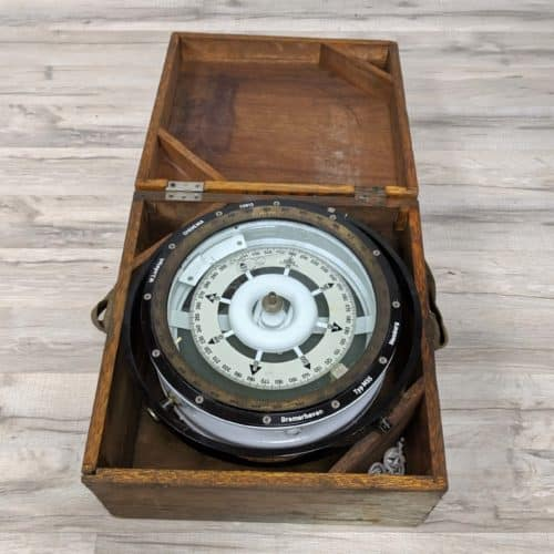 Authentic Salvaged W. Ludolph Magnetic Compass