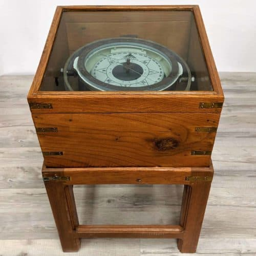 Cassens & Plath Magnetic Compass with Table Stand