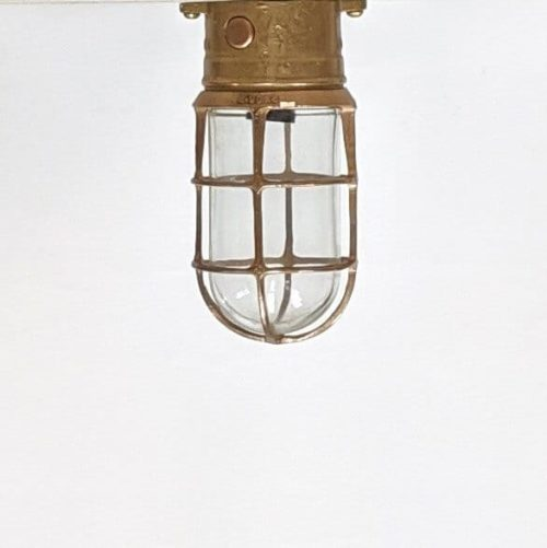 Oceanic Brass Ceiling Light