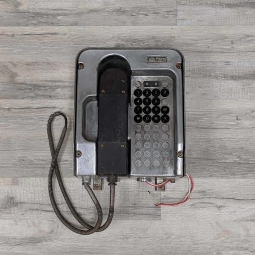 Antique Italian Emergency Phone - Ship's Telephone