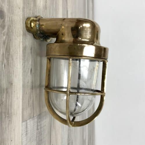 Small Wall Mounted Nautical Passageway Light
