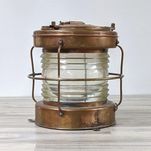Nippon Sento Large Salvaged Brass Lantern
