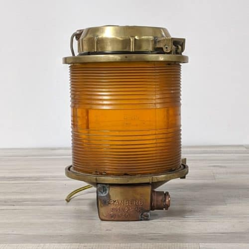 Tranberg Brass Nautical Towl Light - 0