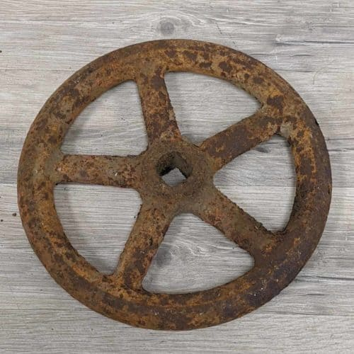 Rustic Ship's Valve Wheel