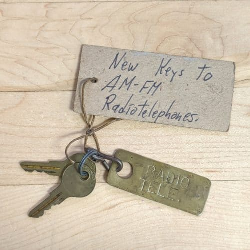 Antique Ship Key - Great Lakes Steam Ship - Radiotelephone Keys