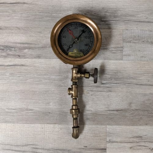 Vintage Brass Fire-San Pump