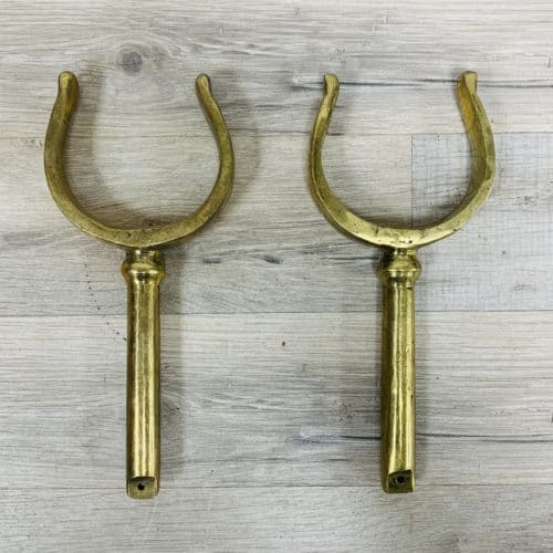 Vintage Brass Oar Lock Set