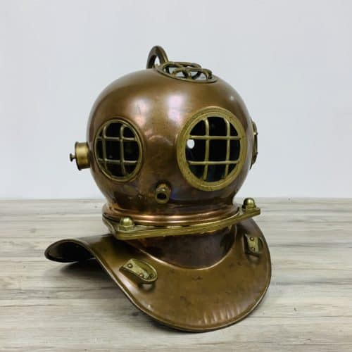 Vintage Reproduction US Navy Diving Helmet