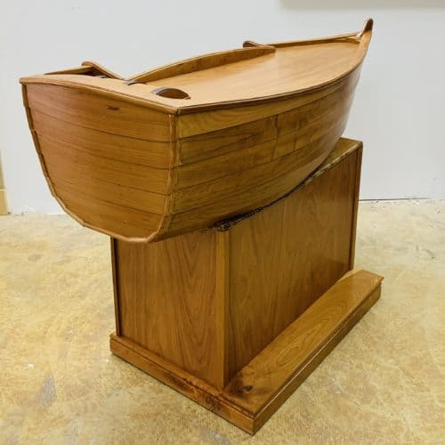 Handmade Cherry Boat Bar