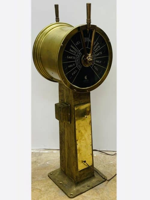 P2-01 Authentic Norwegian Chadburns Electric Telegraph