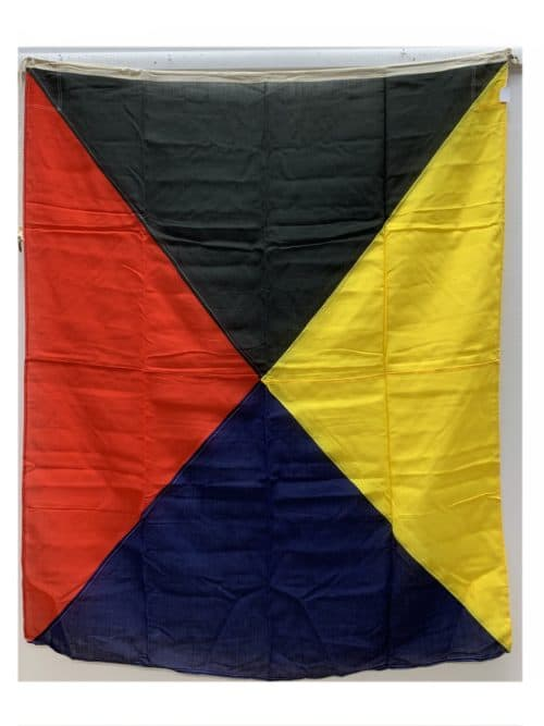 Nautical Letter Z Zulu Signal Flag 53 x 65