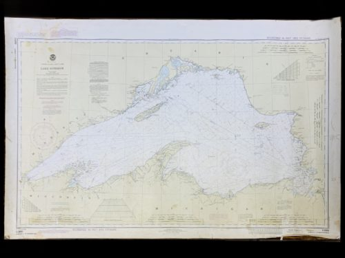 Vintage STR. Kinsman Enterprise - Great Lakes - Lake Superior - NOAA Nautical Chart -14960