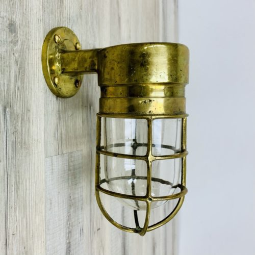 Vintage Brass Wall Sconce