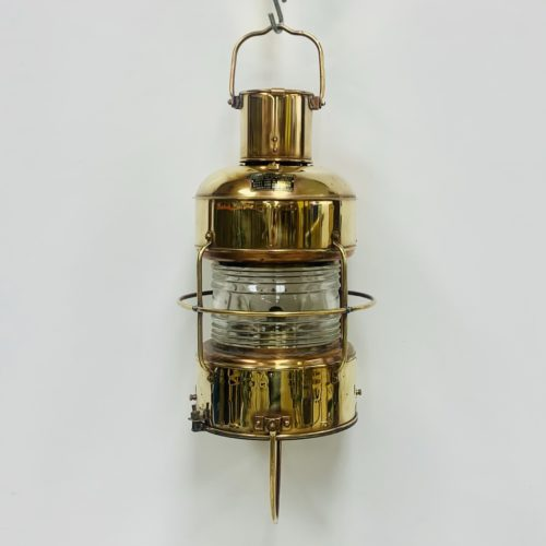 Vintage Nippon Sento White Light Brass And Copper Oil Lantern (Copy)
